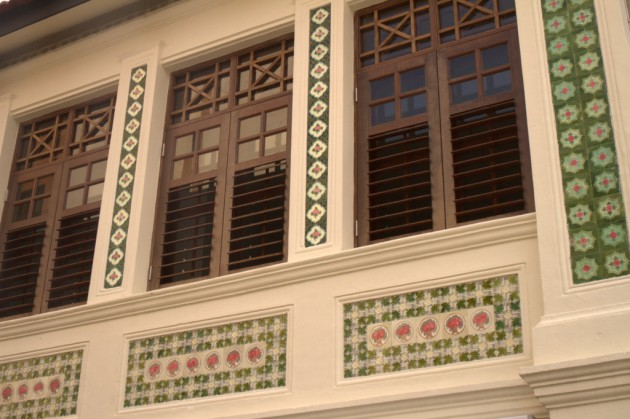 Singapore Colonial style windows