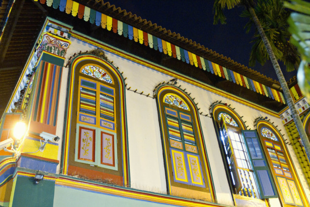 Singapore Colonial style windows - Little India
