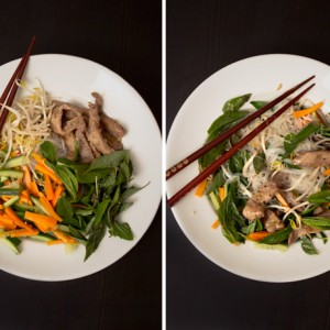 Supper Snaps: Vietnamese grilled pork with vermicelli