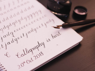 Learning Copperplate Script & Deliberate Practice