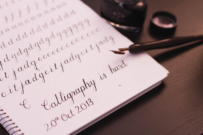 Learning copperplate script deliberate practice chigarden