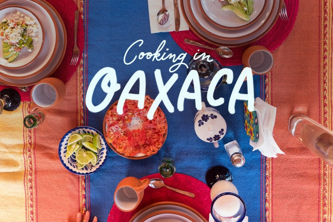 Cooking in Oaxaca