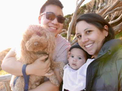 Adventures in Yallingup (with a dog & a baby)