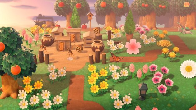 Screenshot of Animal Crossing - my honey garden