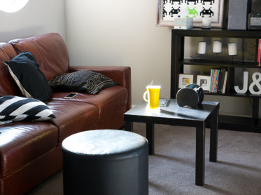 Our new house, new living room