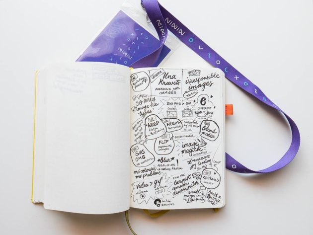 My sketchnotes from Mixin conf