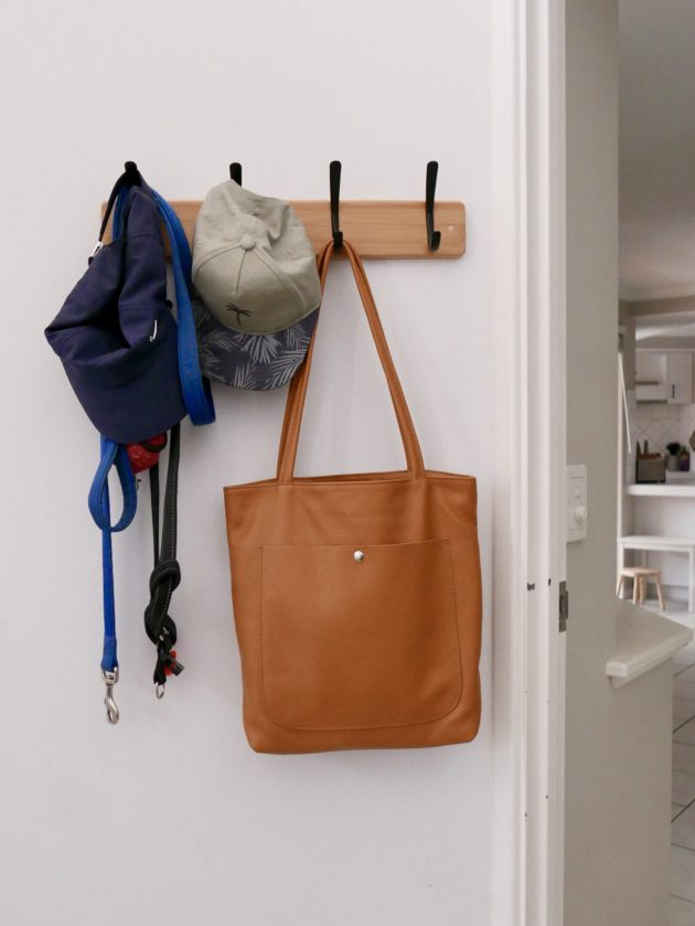 My entrance area and new work bag